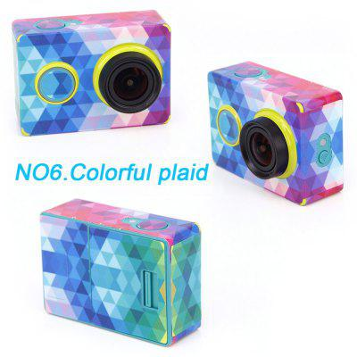 Colorful Skin Protection Sticker for Xiaomi Yi Action Camera