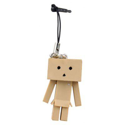 Mini Yotsuba Danboard PVC Anti-Dust Hanging Chain for Cellphone