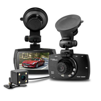 Dome G30B 2.7 inch Dual Lens 1080P 720P Full HD Car DVR