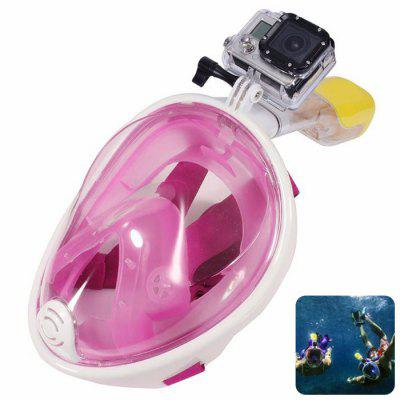 Full Snorkeling Mask for Action Camera