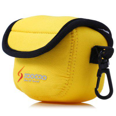 Original SOOCOO Action Camera Storage Protective BagAction Cameras &amp; Sport DV Accessories<br>Original SOOCOO Action Camera Storage Protective Bag<br><br>Accessory type: Storage Bag<br>Apply to Brand: Amkov,Dazzne,Discovery,Eken,FIREFLY,GitUp,Gopro,INNOVV,KEECOO,Mobius,Ordro,SJCAM,Sony,Soocoo,Xiaomi<br>Compatible with: Isaw, Mobius Action Sports Camera, SJ4000, SJ5000, SJ6000, SJ7000, SJCAM 4000 plus, SJCAM 5000 plus, SJCAM M10, SJCAM M10 Plus, Soocoo C10, Soocoo G1, Soocoo S60, W9, Xiaomi Yi, GoPro Hero Series, GoPro Hero 4 Session, A9, Action Camera, Dazzne P2, Dazzne P3, Discovery DS100, Discovery DS200, EKEN H9, FIREFLY 5S, FIREFLY 6S, Gopro Hero 4, Gopro Hero 3 Plus, Gopro Hero 3, Gopro Hero 2, Gopro Hero 1, Gitup Git2, GitUp Git1<br>Material: Nylon<br>Package Contents: 1 x Action Camera Protective Bag<br>Package size (L x W x H): 12.00 x 8.00 x 5.00 cm / 4.72 x 3.15 x 1.97 inches<br>Package weight: 0.0770 kg<br>Product size (L x W x H): 8.50 x 4.50 x 5.50 cm / 3.35 x 1.77 x 2.17 inches<br>Product weight: 0.0250 kg