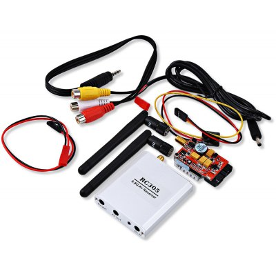 TS351 + RC305 5.8G 600mW 8CH AV FPV Transmitter Receiver TX RX Set for DIY Project