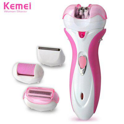 KEMEI KM-2531 4 in 1 Women Electric Epilator
