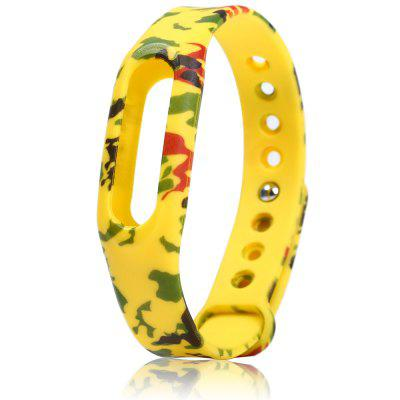 Flower Pattern Band Rubber Strap