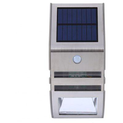 XJ - GY Solar Powered Motion Detect Wall Lamp
