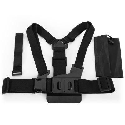 CP-GPK26 Adjustable Body Chest Belt Strap Mount for Action Cameras
