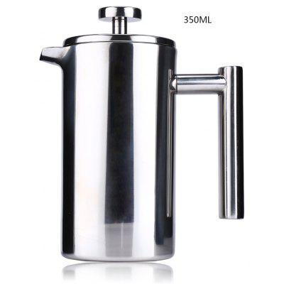 Gearbest 350ML Stainless Steel Insulated Coffee Tea Maker