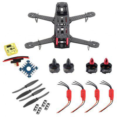 DIY Frame Kit for QAV250 Quadcopter 12A ESC / CC3D FC / Connecting Cable / Propeller
