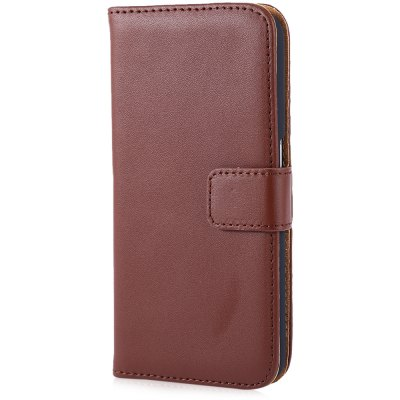 Magnetic Snap Slot Wallet Stand Flip Leather Case Skin for Samsung S6