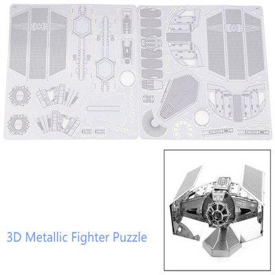446432 Fighter 3D PuzzleBlock Toys<br>446432 Fighter 3D Puzzle<br><br>Gender: Unisex<br>Materials: Metal<br>Package Contents: 1 x 3D Fighter Puzzle ( 2Pcs/ Set )<br>Package size: 17.000 x 12.000 x 0.200 cm / 6.693 x 4.724 x 0.079 inches<br>Package weight: 0.053 kg<br>Product size: 6.300 x 5.600 x 5.100 cm / 2.480 x 2.205 x 2.008 inches<br>Stem From: Europe and America<br>Style: Geometric Shape<br>Theme: Movie and TV<br>Type: 3D Puzzle