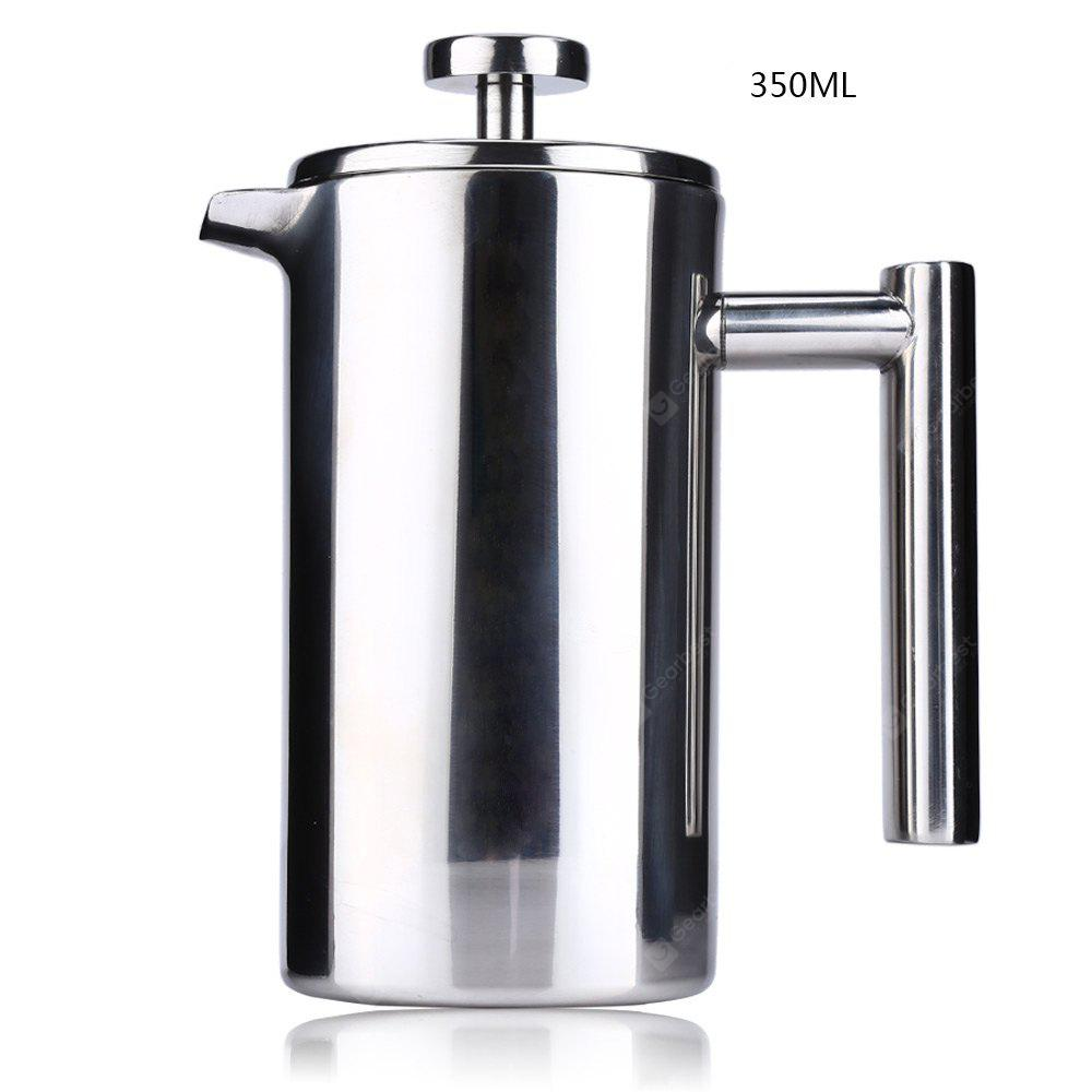 350ML Stainless Steel Insulated Coffee Tea Maker