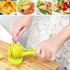 Creative Lemon Fruit Handheld Slicer - GREEN