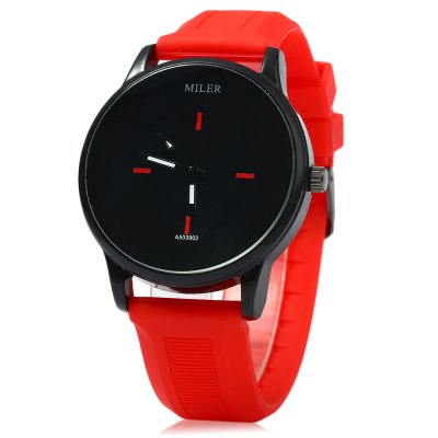 MILER A503902 Candy Colors Male Quartz Watch