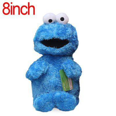 XING TING Animation Sesame Street Cookie Monster Feature Plush Toy Home Office Decor