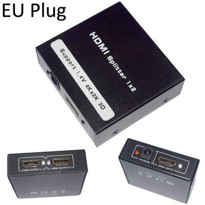 1 Input 2 Output 3D HDMI Splitter Adapter