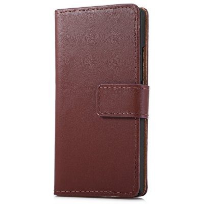 Magnetic Slot Wallet Stand Flip Leather Case Skin for Huawei Ascend P7