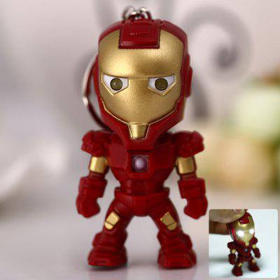 Ironman Style Key Ring