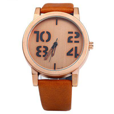 Feifan 62082G Big Digital Men Quartz Watch Leather BandMens Watches<br>Feifan 62082G Big Digital Men Quartz Watch Leather Band<br><br>Band material: Leather<br>Brand: FEIFAN<br>Case material: Stainless Steel<br>Clasp type: Pin buckle<br>Display type: Analog<br>Movement type: Quartz watch<br>Package Contents: 1 x Men Quartz Watch<br>Package size (L x W x H): 26.000 x 5.200 x 2.000 cm / 10.236 x 2.047 x 0.787 inches<br>Package weight: 0.086 kg<br>Product size (L x W x H): 25.000 x 4.200 x 1.000 cm / 9.843 x 1.654 x 0.394 inches<br>Product weight: 0.056 kg<br>Shape of the dial: Round<br>The dial diameter: 4.2 cm / 1.65 inches<br>The dial thickness: 1 cm / 0.39 inches<br>Watch color: Coffee, Black, Brown, White, Black Green<br>Watch style: Casual<br>Watches categories: Male table