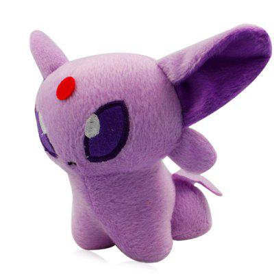 XING TING Animation 5 inch Pokemon Q Version Espeon Feature Plush Toy Home Office Decor