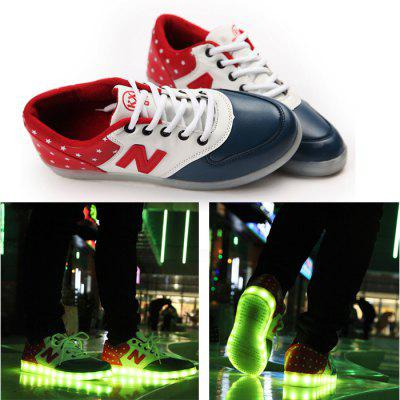 A90 Unisex LED Shoes USB Charging Warm Keeping