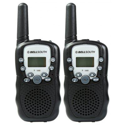 T-388 2pcs 22 Channel Walkie Talkie with Flashlight