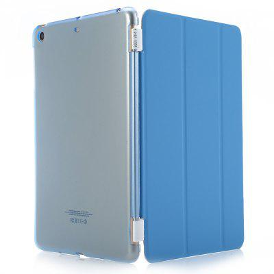 Buy LIGHT BLUE Magnetic Leather Smart Cover Hard Back Case for iPad Mini 1 2 3 for $6.46 in GearBest store