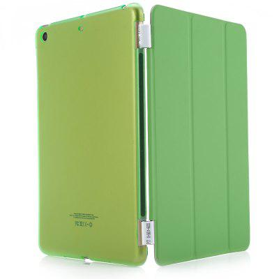 Buy GREEN Magnetic Leather Smart Cover Hard Back Case for iPad Mini 1 2 3 for $6.46 in GearBest store