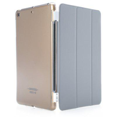 Buy GRAY Magnetic Leather Smart Cover Hard Back Case for iPad Mini 1 2 3 for $6.46 in GearBest store