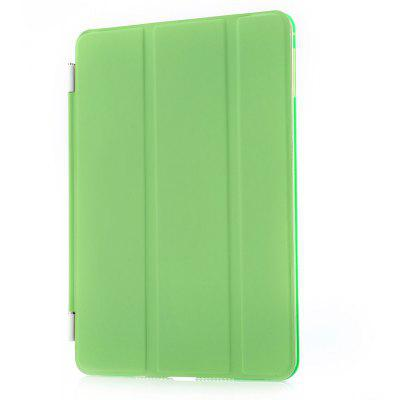 Buy Magnetic Leather Smart Cover Hard Back Case for iPad Mini 4 APPLE GREEN for $4.57 in GearBest store