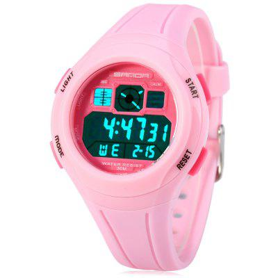 Sanda 331 Water Resistant Multifunctional LED Sports Watch