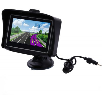 4.3 inch Motorcycle Car GPS Navigation