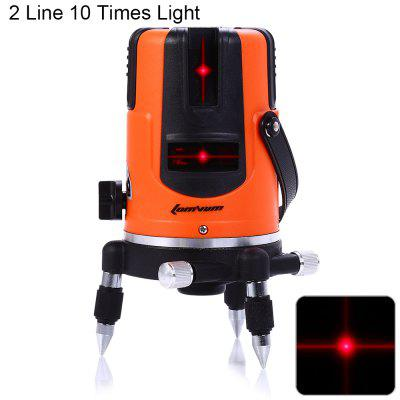 Lomvum SPY-03 10 Times Enhanced Red Light 5 Line Laser Level