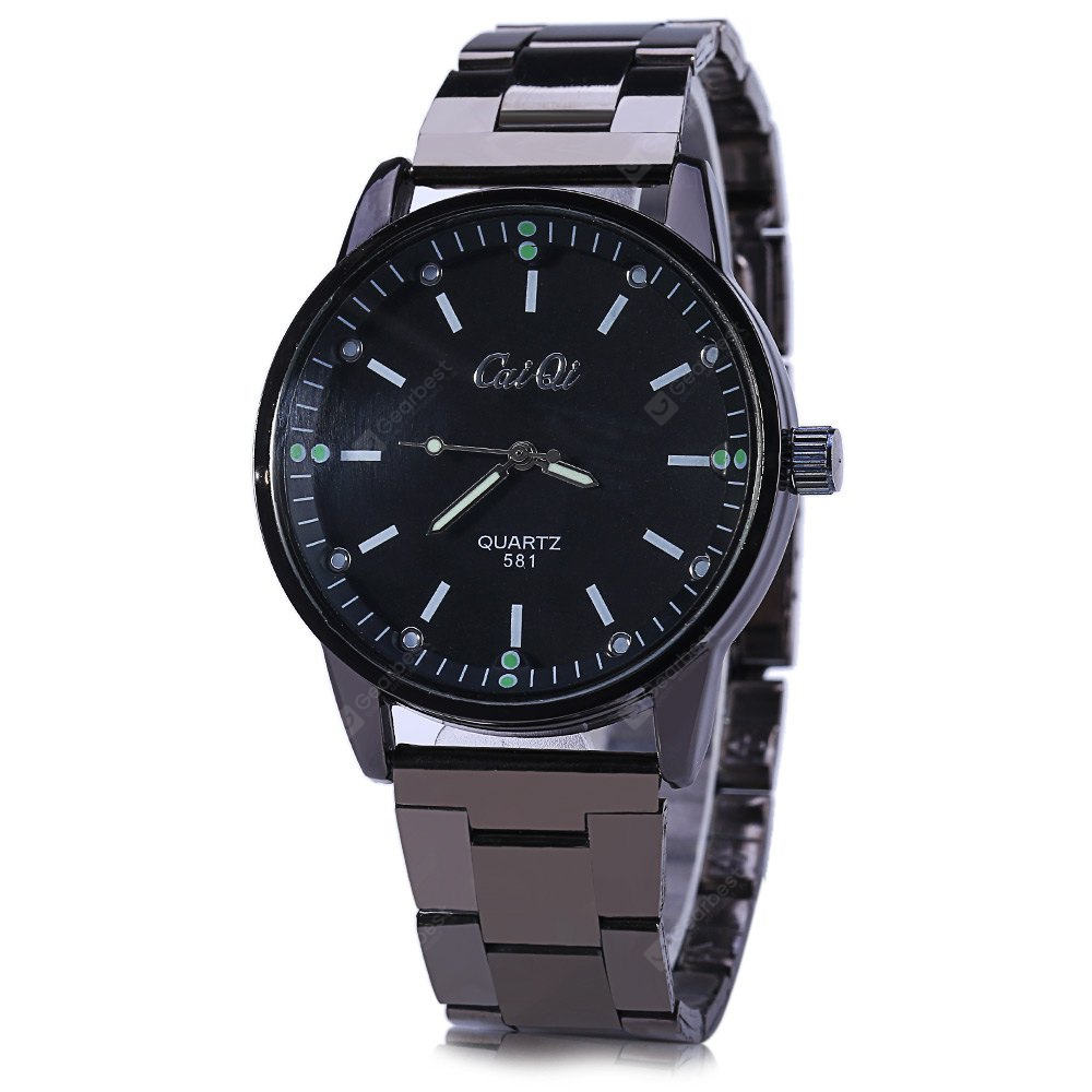 CaiQi 581 Business Male Luminous Analog Quartz Watch