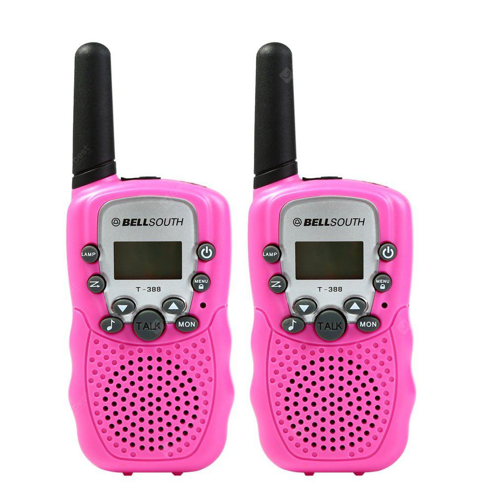 T-388 22 Channel Walkie Talkie Flashlight PINK