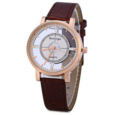 Rosivga 1310 Transparent Dial Female Quartz Watch