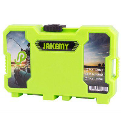 Jakemy JM-PJ2002 Components Storage Container Box CaseStorage Supplies<br>Jakemy JM-PJ2002 Components Storage Container Box Case<br><br>Brand: JAKEMY<br>Material: ABS<br>Optional Color: Green<br>Package Contents: 1 x Jakemy JM-PJ2002 Components Storage Container Box Case<br>Package size (L x W x H): 18.000 x 11.500 x 4.500 cm / 7.087 x 4.528 x 1.772 inches<br>Package weight: 0.365 kg<br>Product size (L x W x H): 17.000 x 10.000 x 3.500 cm / 6.693 x 3.937 x 1.378 inches<br>Product weight: 0.300 kg<br>Special function: Storage Container<br>Type: Tool Box