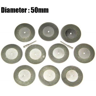 12PCS 50mm Diamond Saw Blade