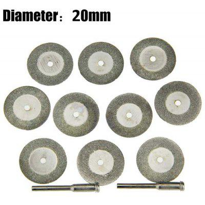 12PCS 20mm Diamond Saw Blade