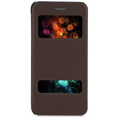 Baseus Pure View Double Smart Window Full Cover Stand Case for iPhone 6 Plus / 6S Plus