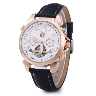 JARAGAR H057M Male Tourbillon Automatic Mechanical Watch