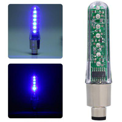Bicycle 7PCS LED Water Resistant Valve Light