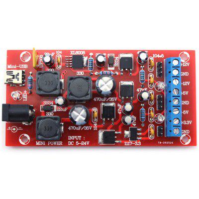 DIY Mini USB Multiple Output Power KitsKits<br>DIY Mini USB Multiple Output Power Kits<br><br>Max. Input Voltage: 5V-24V<br>Output Current: 300mA<br>Output Voltage: +12V, -12V, +5V, -5V, +3.3V<br>Package Size(L x W x H): 16.000 x 11.000 x 5.000 cm / 6.299 x 4.331 x 1.969 inches<br>Package weight: 0.050 kg<br>Ports: Mini USB<br>Product Size(L x W x H): 13.000 x 9.000 x 3.000 cm / 5.118 x 3.543 x 1.181 inches<br>Product weight: 0.025 kg<br>Suitable for: Arduino