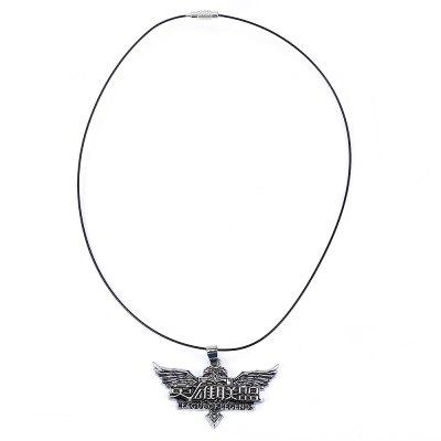 long hollow jewelry pendants of legend item heart dark love pendant fashion in silver glow zelda the necklace