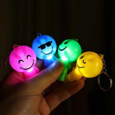 Kids Toys Smile Face Luminous Whistle