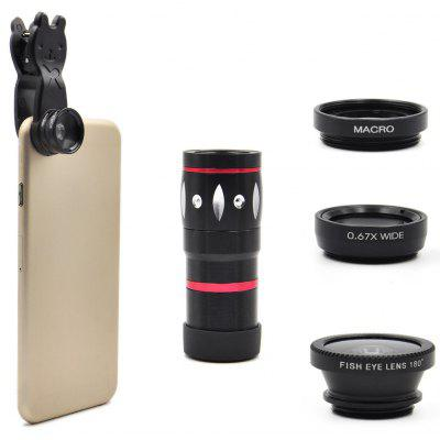 Angibabe 4-in-1 Universal Camera Lens Kit