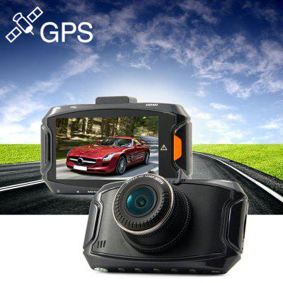 Dome GS90A 1296P Super HD 2.7 inch 5MP 170 Degree GPS Car DVR