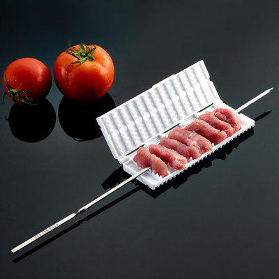 Practical Meat Skewer Maker Pork Stick Tool