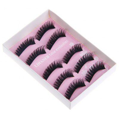 Makeup Exaggerated Stage Artificial Eyelashes exaggerated mask brooch