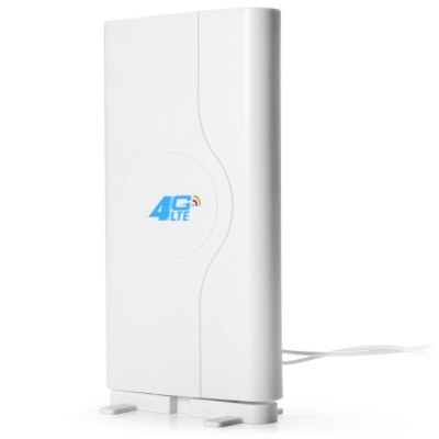 LF - ANT4G01 4G LTE TS9 Plug 49dBi MIMO Antenna Signal BoosterNetwork Devices<br>LF - ANT4G01 4G LTE TS9 Plug 49dBi MIMO Antenna Signal Booster<br><br>Color: White<br>Frequence range: 800MHz-2700MHz<br>Interface: TS-9<br>Model: LF-ANT4G01<br>Package Contents: 1 x LF - ANT4G01 4G LTE TS9 Plug 49dBi MIMO Antenna Signal Booster, 1 x Base<br>Package size (L x W x H): 26.800 x 13.000 x 5.900 cm / 10.551 x 5.118 x 2.323 inches<br>Package weight: 0.470 kg<br>Product weight: 0.314 kg<br>VSWR: ?1.5