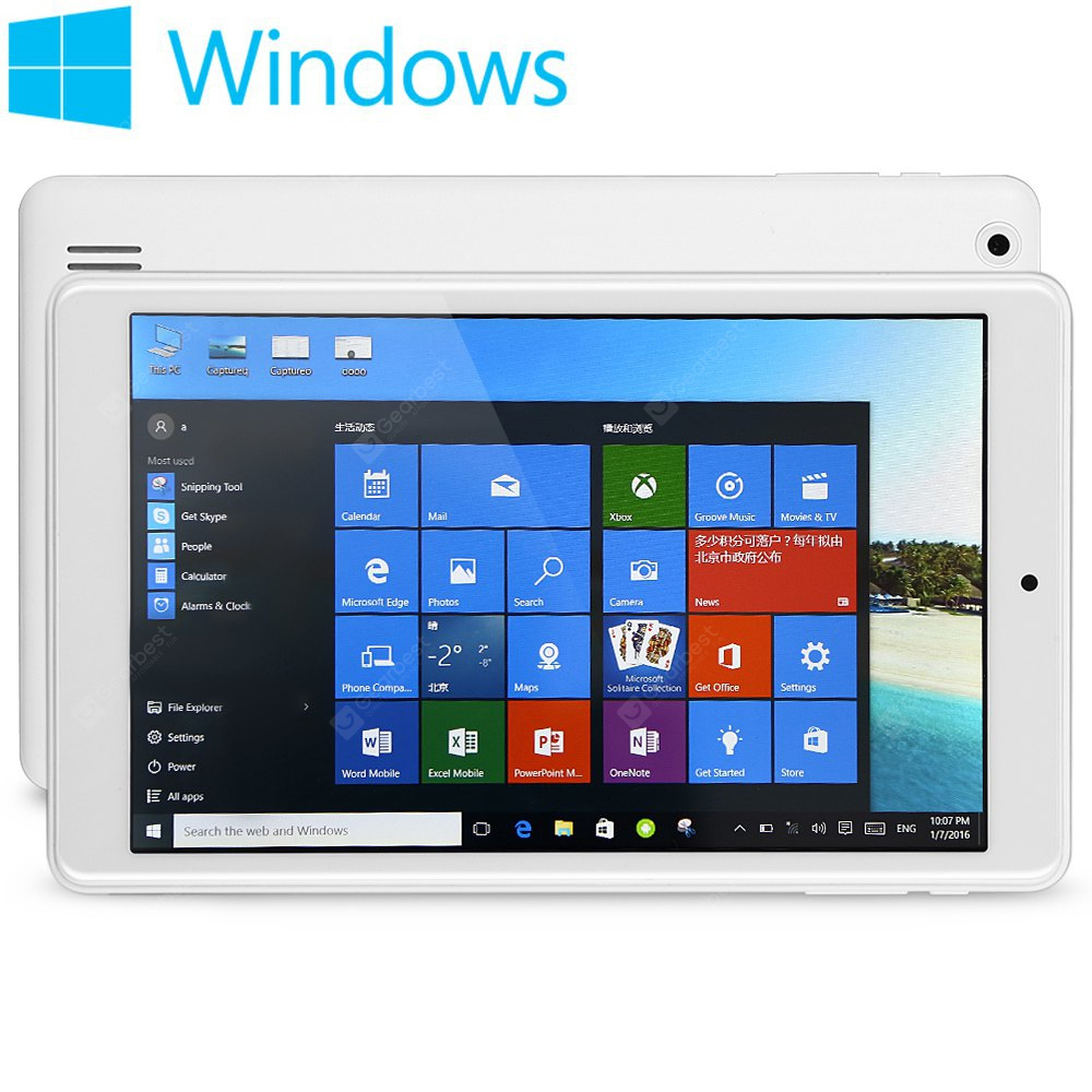 Teclast X80HD 8 inch Windows 10 + Android 4.4 Tablet PC
